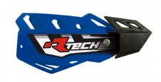 Racetech Blue FLX Standard Handguards With Mount Kit Motocross Enduro